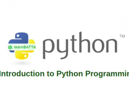 Important points related to high-programming language- Python